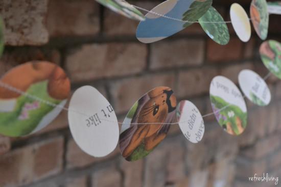 easter pendant circle banner