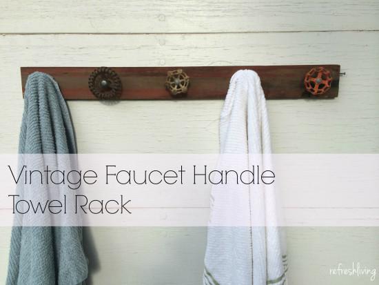 antique faucet spigot rack