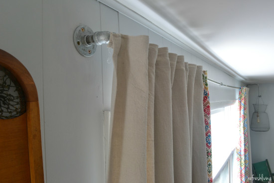diy drop cloth curtains 2