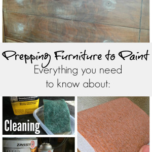 what do I need to do before painting furniture | Important steps before painting furniture | do I need to prime | do I need to sand | the best way to prep before painting furniture