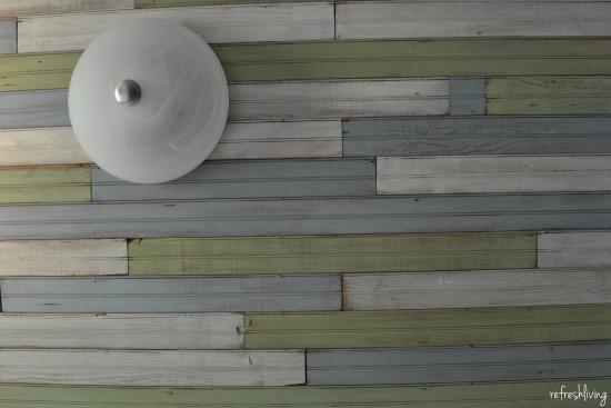 beadboard ceiling DIY