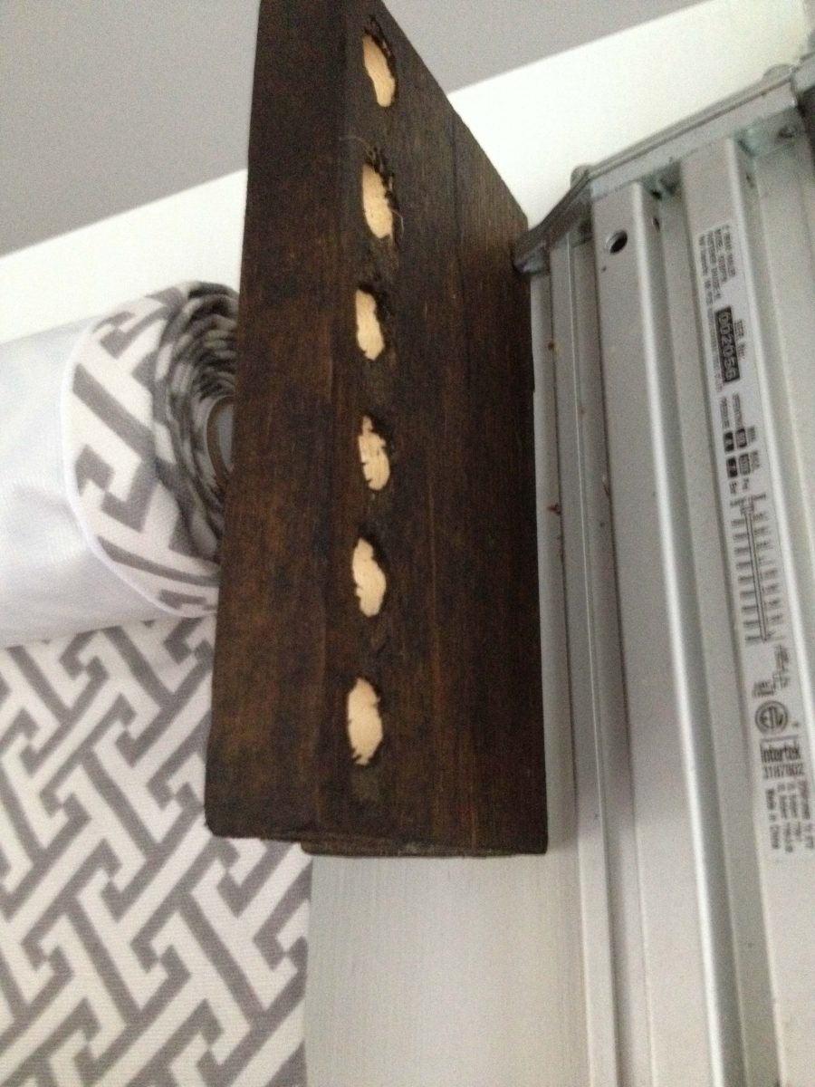 Diy Wood Valance Rustic Rope Diy Valance Refresh Living