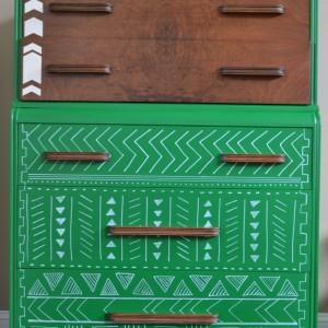 Tribal Pattern Dresser