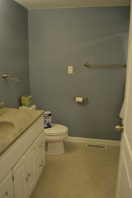 ORC bathroom week 2 tile