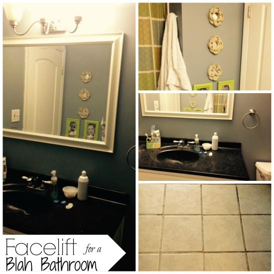 facelift for a blah bathroom