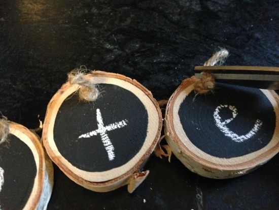 diy wood slice craft