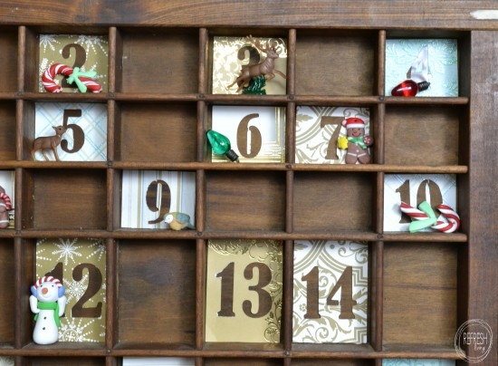 DIY advent calendar for kids