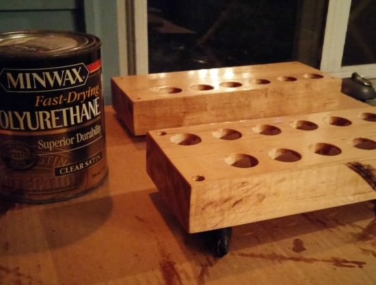 butcher block and spice rack tutorial 3
