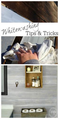 whitewashing tips and tricks