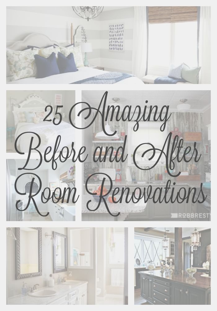 25 before and after room reveals