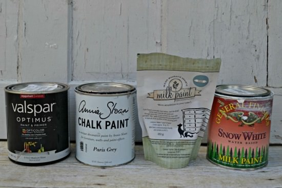 What is the best paint for painting furniture? Comparison between latex, chalk, milk, and acrylic paint and which one is best for painting furniture