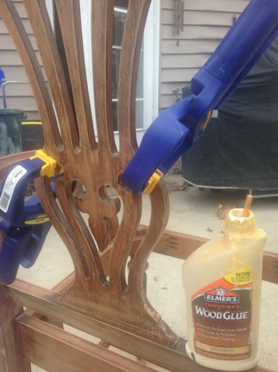 repairs to wood chair