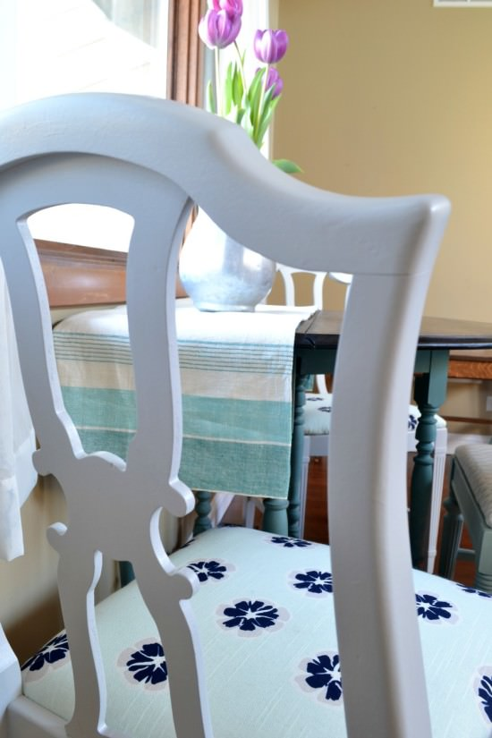 the best way to refinish dining chairs
