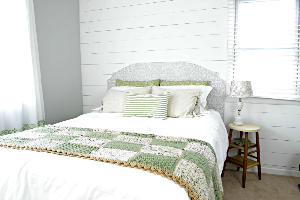 Vintage Farmhouse Master Bedroom - Refresh Living