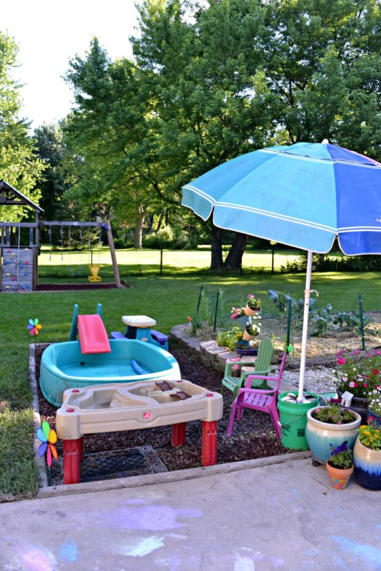 backyard for young kids