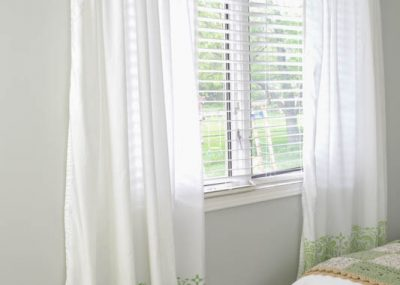 diy curtains made from sheets-1