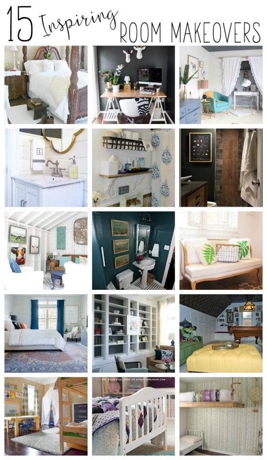 I love looking at room makeovers - it always gives me ideas that I can use in my own room makeover. These 15 rooms are pretty amazing!