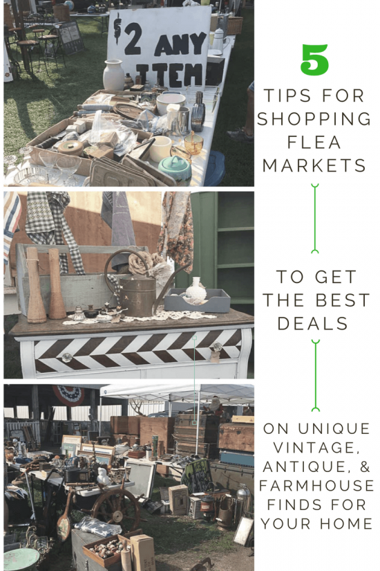 I can't wait to try out these tricks for shopping at flea markets this summer! I love the tips on how to negotiate. This lady has bought and sold at flea markets, so she knows what she's talking about!