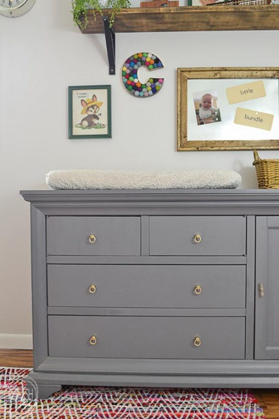 Update To A Nursery Dresser And Changing Table Refresh